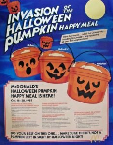 old halloween mcdonalds ad