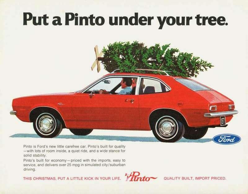 old christmas ad